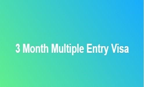 3 Month Multiple Entry Visa