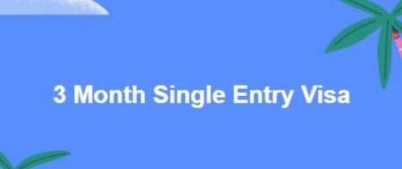3 Month Single Entry Visa